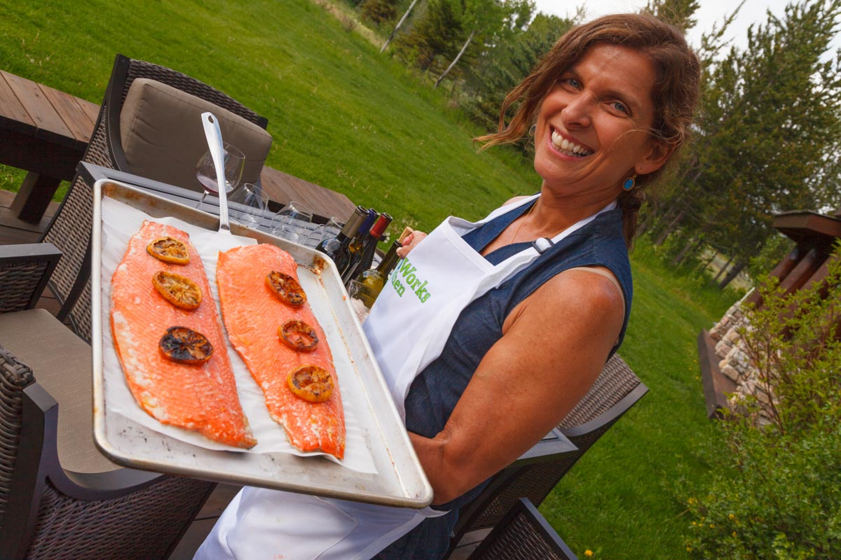 Annie Fenn Healthy Brain Oven Steamed Salmon