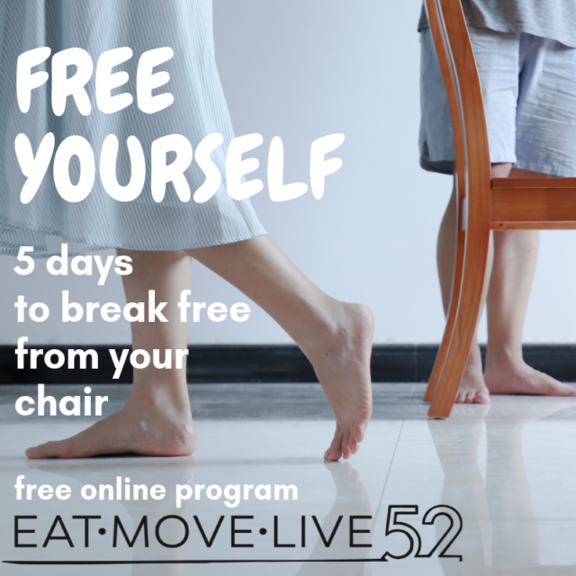 5 days to break free from your chair