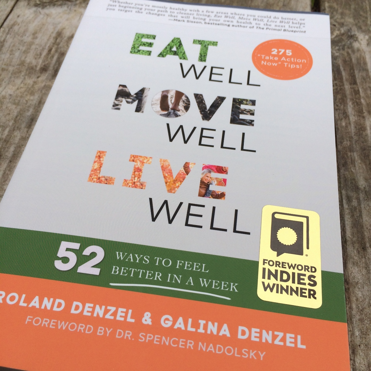 Foreword INDIE Gold Award Health EatMoveLive52