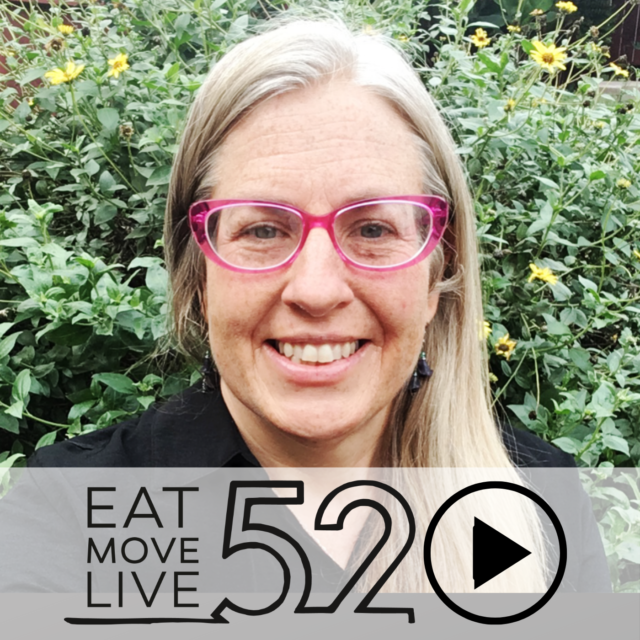 Ecotherapy with Andrea Bell EatMoveLive52 Podcast