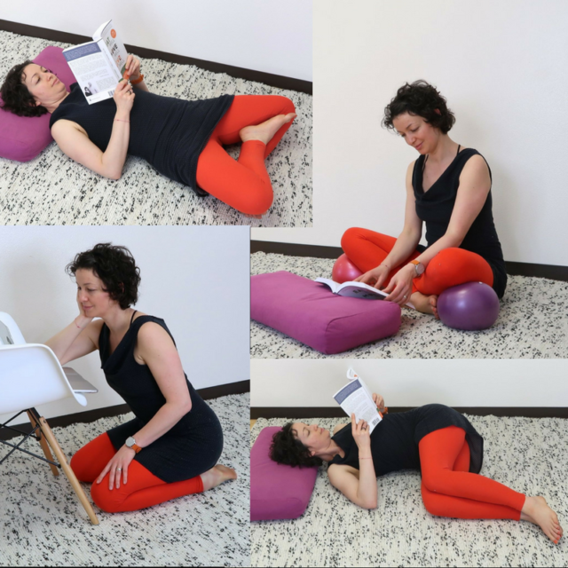 Body friendly reading positions
