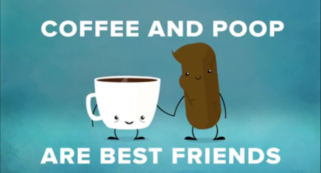Coffee & Poop BFF!
