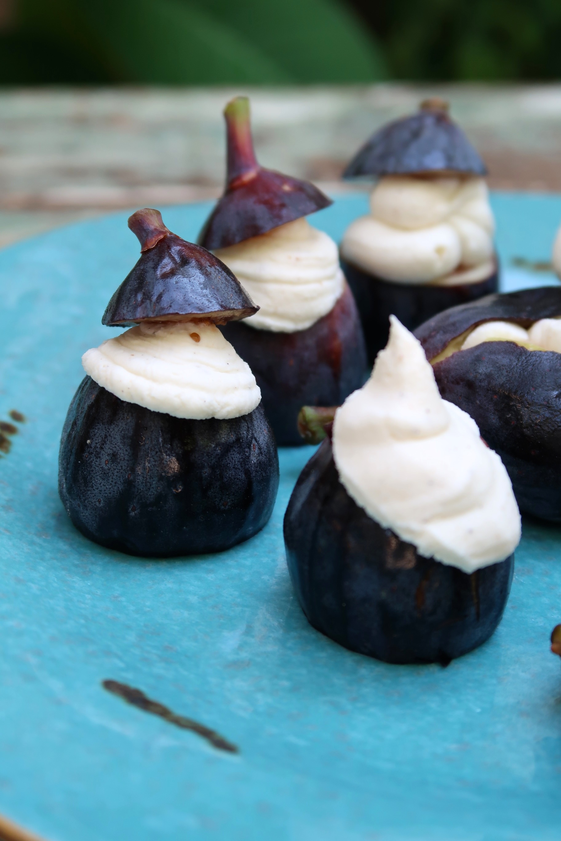 figs with mascarpone cheese