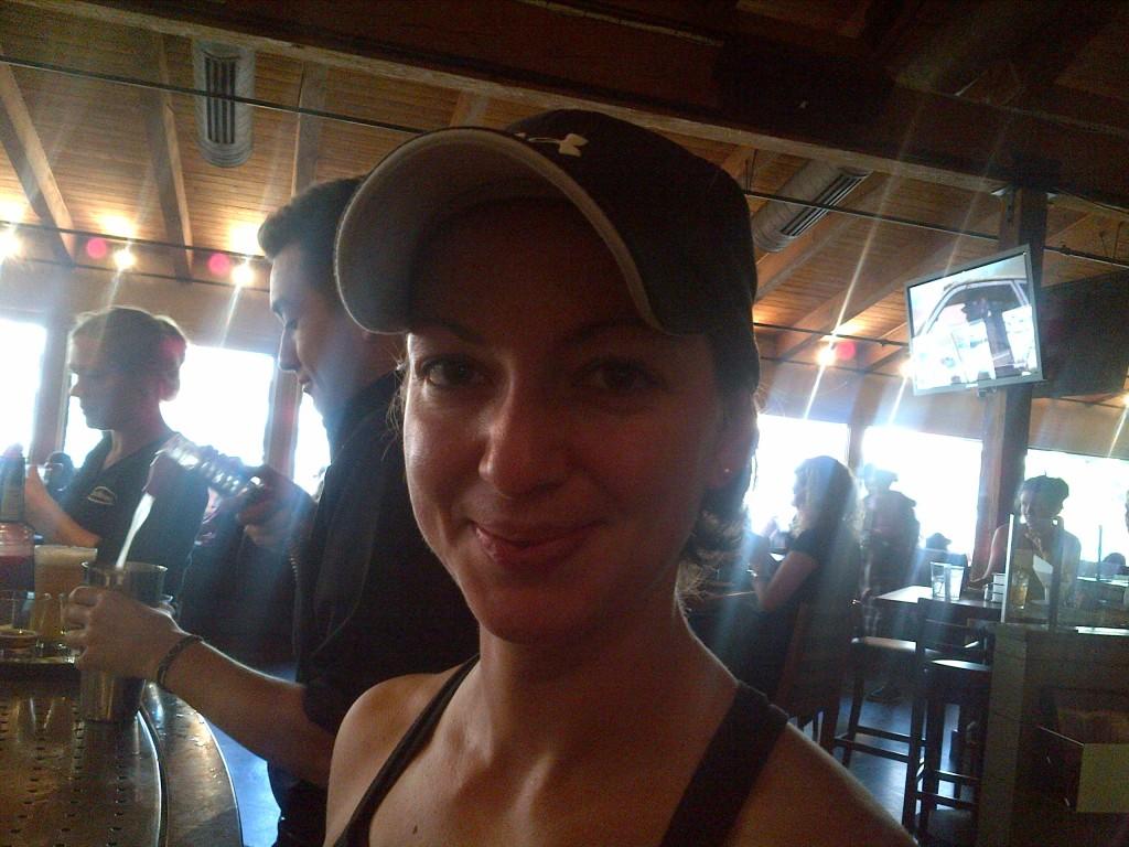 galya enjoys brunehaut gluten free beer