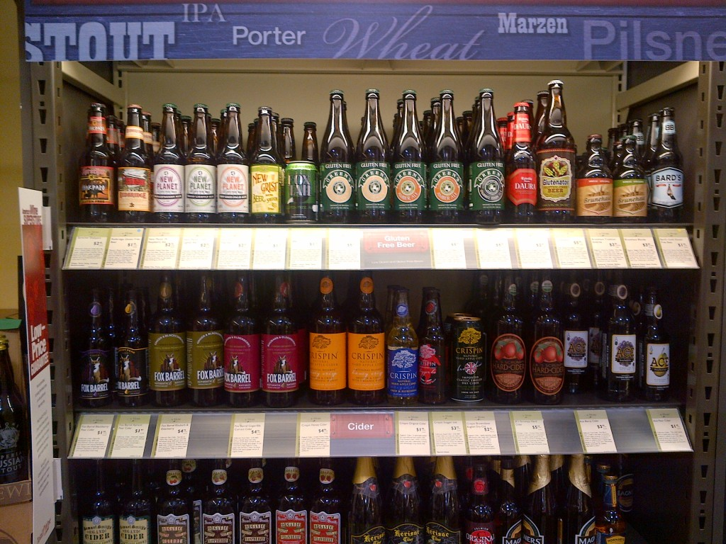 gluten free beer cider shelf total wines and more