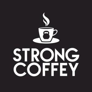 kelly coffey strong coffee logo