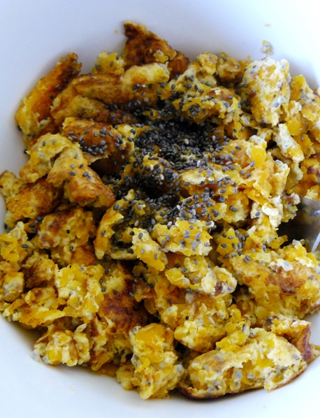 butter nut squash scramble by  the Fit Ink