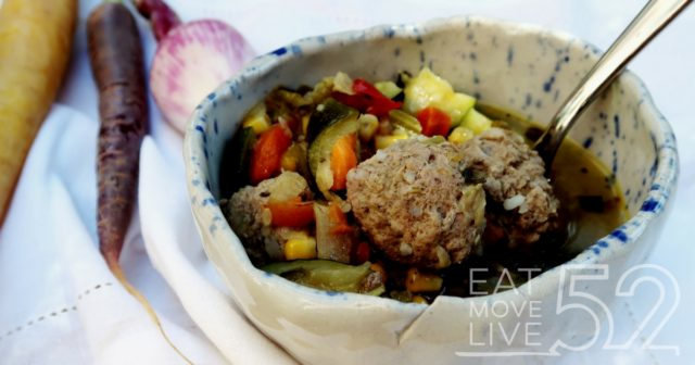 Albondigas Soup – my paleo meatball soup recipe