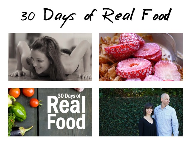 30 Days of Real Food and Starlight Mints