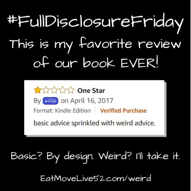 #FullDisclosureFriday – Basic health advice & weird advice