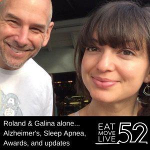 Roland & Galina Podcast Alone - Sleep apnea alzheimers disease