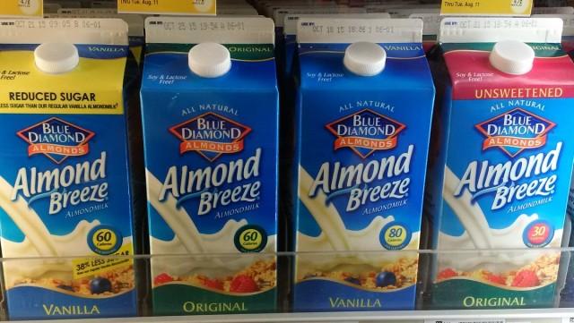 I don't care about the Blue Diamond Almond Milk lawsuit