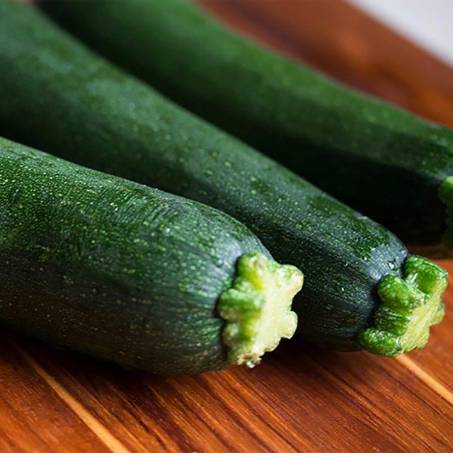 Zucchini with tahini
