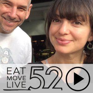 Roland and Galina Denzel EatMoveLive52 Podcast