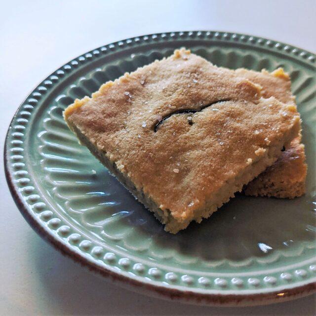 gluten free rosemary almond crackers