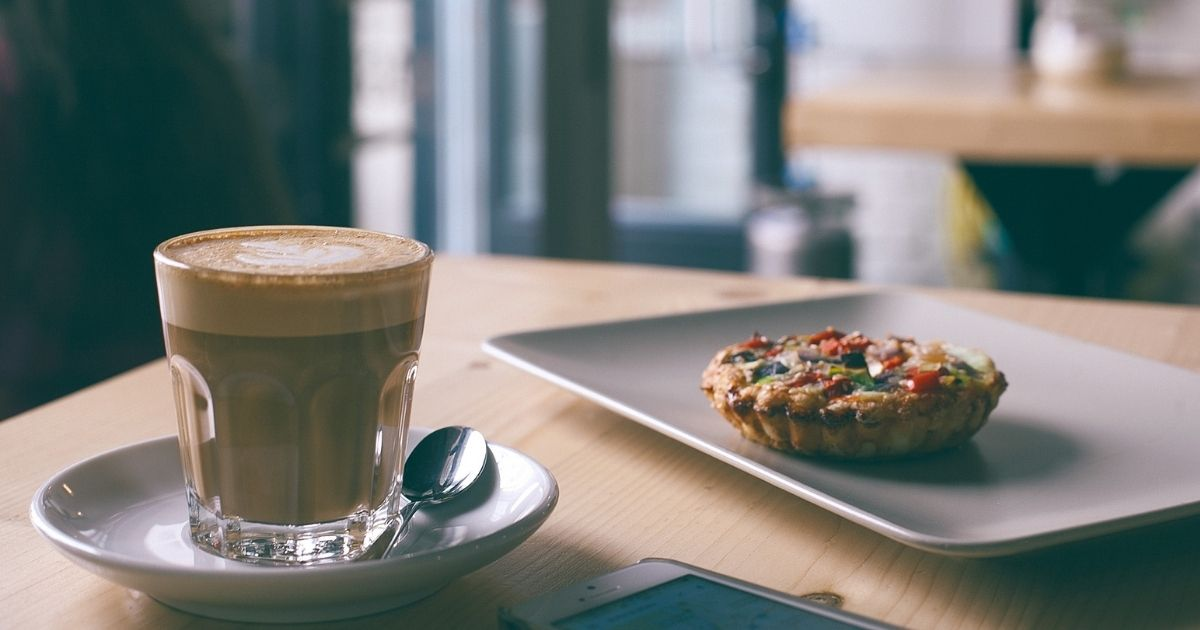 coffee and a frittata